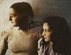 Margot + Anne Frank by Livadialilacs on deviantART