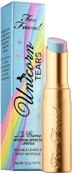 Too Faced La Crème Mystical Effects Lipstick Lifes A Festival Collection#ad