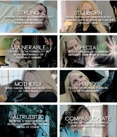 Emma Swan Personality Traits