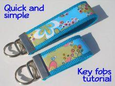 Ribbon Key Fobs