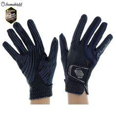 Samshield V-Skin Swarovski Crystal Riding Gloves -    Was £66.50, Now £49.50    https://www.equiport.co.uk/products/riding-wear/horse-riding-gloves/vskin-swarovski-crystal-riding-gloves-g10/    #Equestrian #Samshield #Equiport #SummerSale #SalePick
