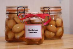 Mini-babas au rhum (idée de cadeau gourmand)