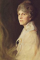 """First Lady Florence Harding Official White House Portrait. Florence """"Flossie"""" Mabel Kling Harding (previously DeWolfe; August 15, 1860 in Marion, Ohio – November 21, 1924), wife of 29th President Warren G. Harding, was the 31st First Lady of the United States from 1921 to 1923. She married the somewhat-younger Harding when he was a newspaper publisher in Ohio, and she was acknowledged as the brains behind the business."""