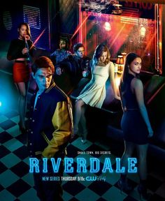 Cole Sprouse, Ashleigh Murray, Lili Reinhart, Camila Mendes, K.J. Apa, and Madelaine Petsch in Riverdale (2017)