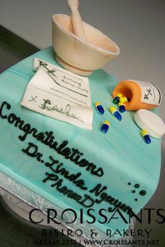 Pharmacy Graduate Cake