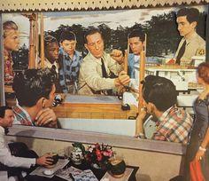 Boys who brunch part one #karlysmith #collage #art #boyswhobrunch