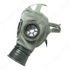 Invented in the gas mask was a World War One invention. The gas mask's purpose was to protect a person from harmful gases such as mustard gas. Dad Tattoos, Ap Art, World War One, Suede Material, Dieselpunk, Mask Design, Gas Masks, Leather, Assemblages