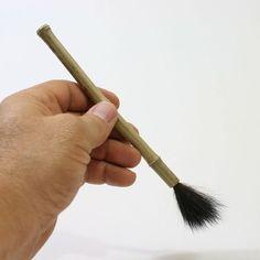 Bamboo, Bear Hair Paint Brush, Paintbrush, Detail Brush