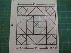How to use Line Diagrams --> Dear Jane, Civil War Diary Quilt, etc.