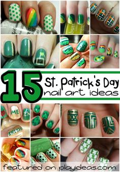 Add a little something special to your holiday with these 15 St. Patrick's Day nail art ideas! Which idea will you choose to decorate your holiday nails?