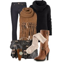 A Shawl for Fall - Polyvore