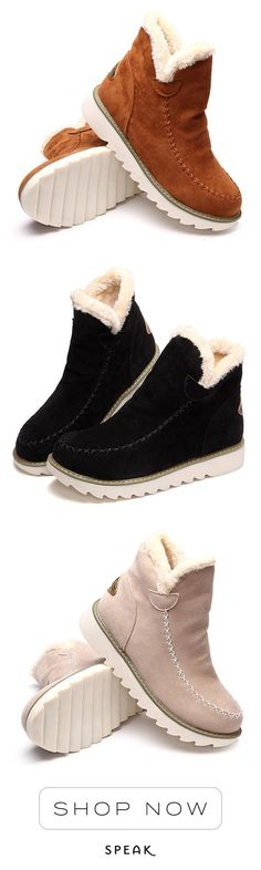 Stay cozy in these Pyrenees fleece ankle boots (P.S. they're vegan!)