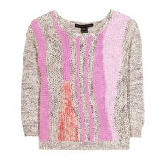 Marc by Marc Jacobs Flo Knit Pullover ($529) via Polyvore