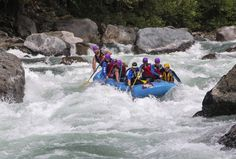 Rafting on Skykomish River in Washington! Hiking, camping, & many different activities.