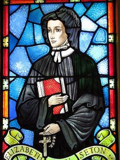 St. Elizabeth Ann Seton (1774 – 1821)  Elizabeth Ann Bayley was born on August 28, 1774, the second child of a socially prominent couple, Dr. Richard Bayley and Catherine Charlton of New York City...(Read the rest of her story here:) https://www.facebook.com/St.Eugene.OMI/photos/a.1490771924522168.1073741828.1490724774526883/1528828360716524/?type=1&theater