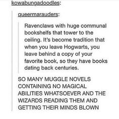 Reasons why I'm a Ravenclaw. I would never leave the common room! >>> best thing ever>>>>> ravenclaw/Slytherin Harry Potter Universal, Harry Potter Fandom, Harry Potter Memes, Fandoms, Scorpius And Rose, No Muggles, Plus Tv, Yer A Wizard Harry, Mischief Managed