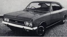 1972 Ranger SS. A glorified Opel Rekord. Black interior made it look sporty.