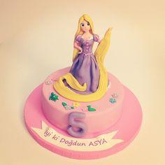 Rapunzel Pasta - 5 Yaş Pastası
