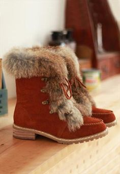 winter boots for women,lace leather fur boots,leather boots