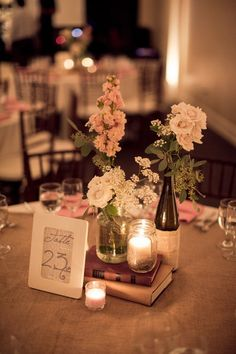 Beyond flowers 50 unique ideas for your centerpieces book 1000 images about aa books in centerpieces on pinterest vintage centerpieces book wedding junglespirit Gallery
