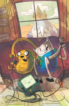 Mike Krahulik cover for Adventure Time! #5