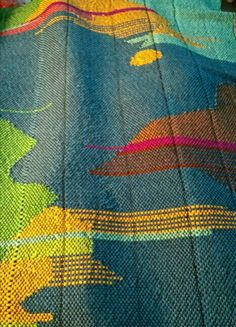 Saori weaving by Ala