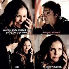 "#TVD 6x14 ""Stay"" - Elena and Damon"