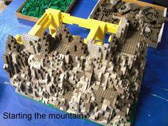 Mountain Building: A LEGO® creation by Brian Darrow : MOCpages.com