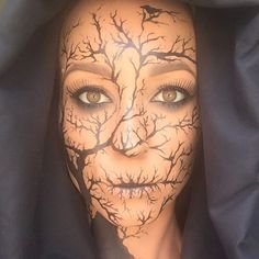 "Lisa Marie (@lisamarie_murphy) on Instagram: ""Inspired by the one and only... Edgar Allan Poe ❤️ #makeup #artist #faceart #mask #makeupartist…"""