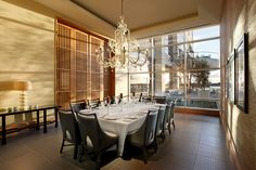 Looking to host a private dinner party? Book our private dining room at Vela overlooking the bay