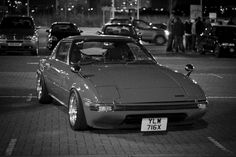 Testing the 7D at ISO 3200. A lot better than my 350D is all i can say haha!  *Note* I added film grain on in Lightroom, that is not noise from the camera.  Car is a Mazda RX7 FB on SSR Mk1's.   http://www.backlinksfans.com/