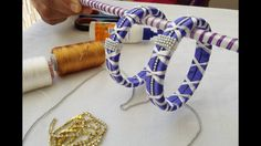 Latest silk thread bangle making at home I Easy and Simple step bangles