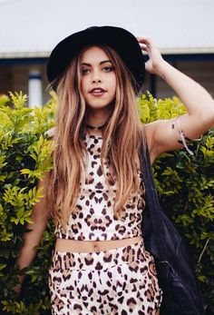 Leopard print two piece perfect for a festival x