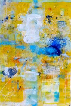 "Saatchi Art Artist Kati Bremme; Painting, ""yellow"" #art"
