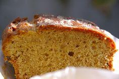 Los dulces de Zuli: Bizcocho de cítricos con harina de espelta, azúcar moreno y sin lácteos