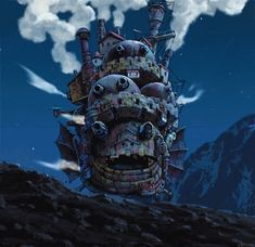 Howl's Moving Castle (2004) gif