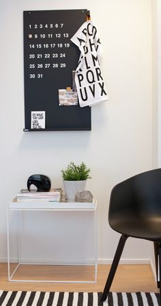Via Sisustuksen | Black and White | Hay About a Chair | Design Letters