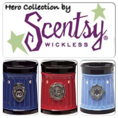 A great gift for your favorite firefighter, police officer or EMT go to https://Scentsoverpets.scentsy.us to order