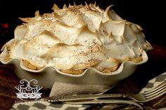 Grandmama's Chocolate Meringue Pie is classic, traditional, simple, and well…perfect. Often times with meringue pies, there are problems; the meringue maypull away from the pie and will become watery, or the meringue will not rise like it should. This recipe is quite foolproof and I address all ofthese problems. My …