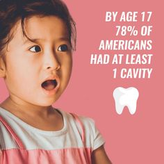 Dental Fact: 78% of us had AT LEAST one cavity by the age of 17!  How are your brushing habits now?