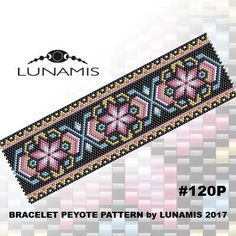 PDF FORMAT / PATTERN ONLY. Create this beautiful peyote cuff bracelet.  Miyuki Delica Beads size 11/0 Odd count with 6 bead colors. 35 bead columns by 91 bead rows. Width: 1.8 (4,7 cm) Length: 6.2 (16 cm)   Patterns include: - Large colored numbered graph paper (and non-numbered in another files) - Bead legend (numbers and names of delica beads colors ) - Word chart - Pattern preview  This pattern is intended for users that have experience with odd count peyote and the pattern itsel...