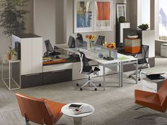 Discover CORT's office furniture solutions for your workplace or business. Rent office furniture from CORT and we include space planning, delivery, and pickup. Home Decor Furniture, Office Furniture, Diy Home Decor, Kirkland Home Decor, Open Office, Store Fronts, Corner Desk, Modern, Kitchen
