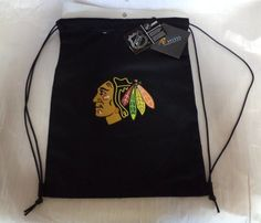 Chicago Blackhawks NHL Backpack Back Sack by Pangea Brands. $9.99. This is a gym bag great for carrying compact stuff