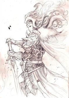 Game of Thrones -Visenya Targaryen by Adrianohq.deviantart.com on @deviantART