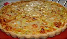 Goat Cheese Bacon Pie Recipe by - Recipe from the Taipe . World Recipes, Pie Recipes, Bacon Pie, Good Food, Yummy Food, Chiffon Cake, Coco, Food Videos, Entrees