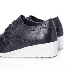 Pantofi Piele Tunali negri Adidas Sneakers, Casual, Shoes, Fashion, Moda, Zapatos, Shoes Outlet, Fashion Styles