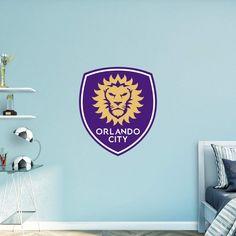 Fathead MLS Orlando City Soccer Club Logo Wall Decal - 67-67060