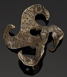 Magnificent eagle quatrefoil brooch from the Staffordshire Hoard