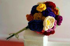 portias bouquet - nellie clementine My Heart, Crochet Necklace, Bouquet, Jewelry, Jewlery, Crochet Collar, Bijoux, Schmuck, Jewerly