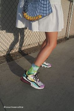 Find all your women's sneaker needs at Urban Outfitters. From slip on sneakers to chunky sneakers featuring brands like Nike, Fila, adidas, Reebok & Vans. Nike Air Max, New Nike Air, Vintage Sneakers, Air Max 270, Sneaker Boots, Fashion Outfits, Nike Outfits, School Outfits, Sneakers Fashion